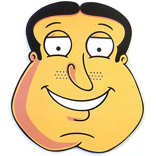 [Family Guy Quagmire Mask] (Family Guy Masks Costumes)