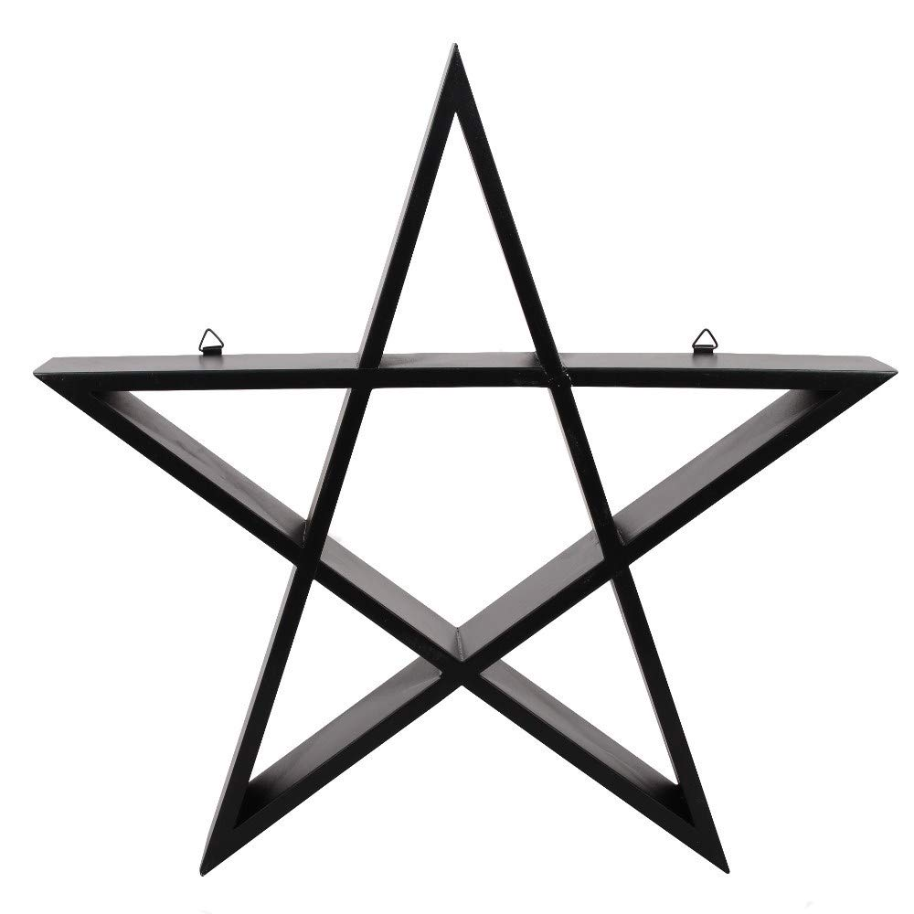 Something different Pentagram Wall Art Shelf - Wicca Pagan Home Decor
