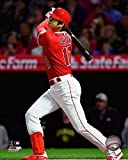 Los Angels Angels Shohei Ohtani At The Plate. 8x10 Photo Picture