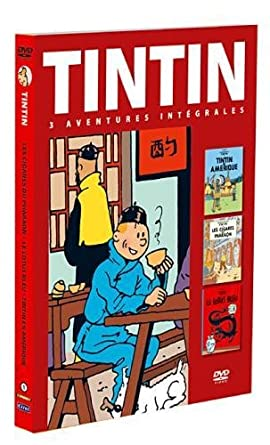 Vignette du document Tintin : 3 aventures intégrales. Volume 1