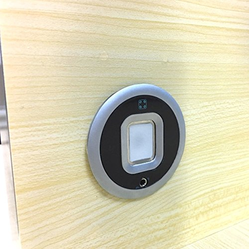 Biometric fingerprint lock for wooden drawer and cabinet by Armstrong (Image #2)