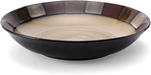Pfaltzgraff Taos Large Round Pasta Bowl, 14-Inch, brown