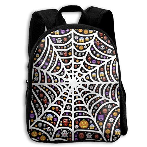 Liumong Cute Halloween Devil and Spider Web Children