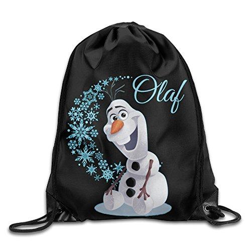 Olaf Wave Of Snowflakes Nylon Cinch Sack Home Travel Sport Storage