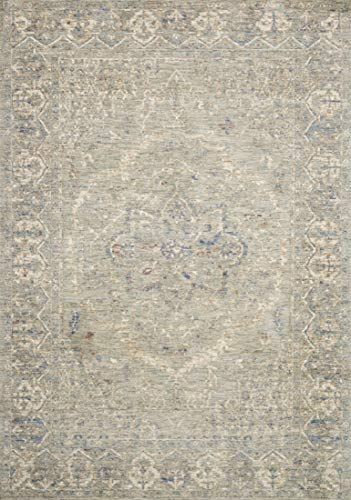 - Loloi REVRREV-02MI0026G0 Revere Collection Area Rug, 2'6