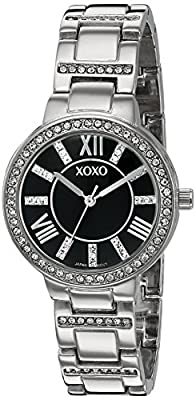 XOXO Women's Quartz Metal and Alloy Automatic Watch, Color:Silver-Toned (Model: XO5885)