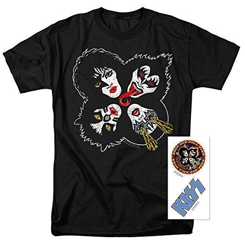 KISS Rock & Roll Over Gene Simmons Rock Band T Shirt (Medium)