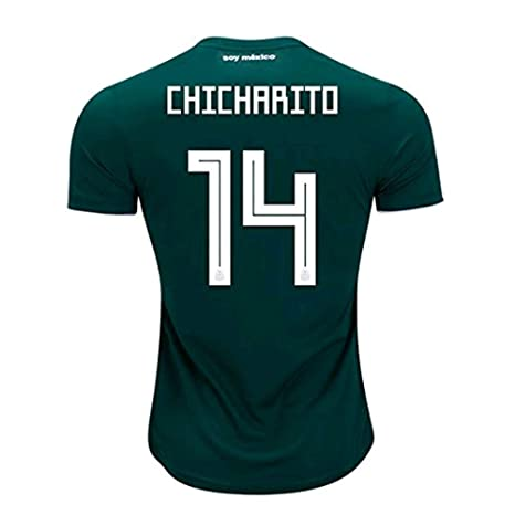 wholesale dealer afe82 12250 Amazon.com : Scshirt 2018 Russia World Cup #14 CHICHARITO ...