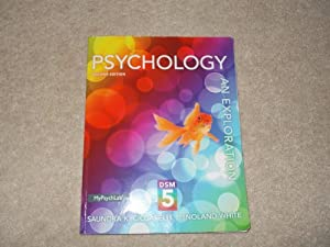 Psychology:an Exploration W/dsm 5