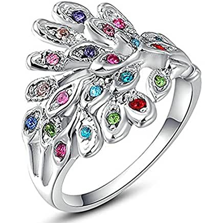ring rs buy peacock opulent engagement lar designs price jewellery rings