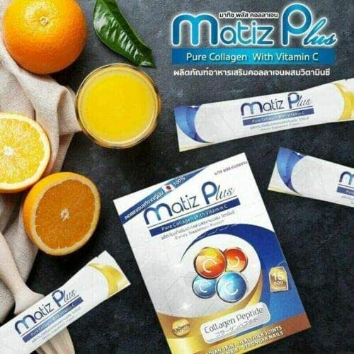 Matiz Plus Pure Collagen with Vitamin C Supplementary Food Skin Care.