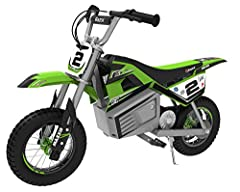What better way to get your start on dirt than with the winningest supercross rider in history, Jeremy McGrath. The SX350 McGrath scales his iconic bike down to size for younger riders, featuring authentic MX-frame geometry, motocross-spec ti...