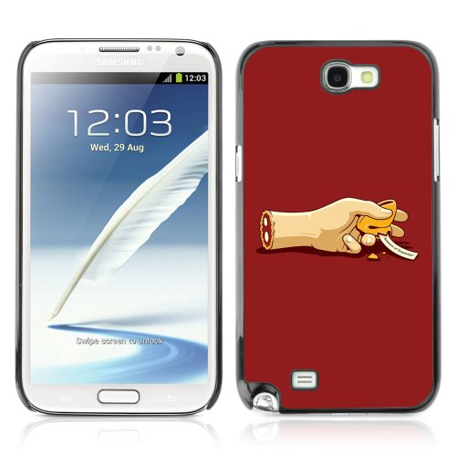 (CelebrityCase Polycarbonate Hard Back Case Cover for Samsung Galaxy Note 2 II ( Fortune Cookie Message ))