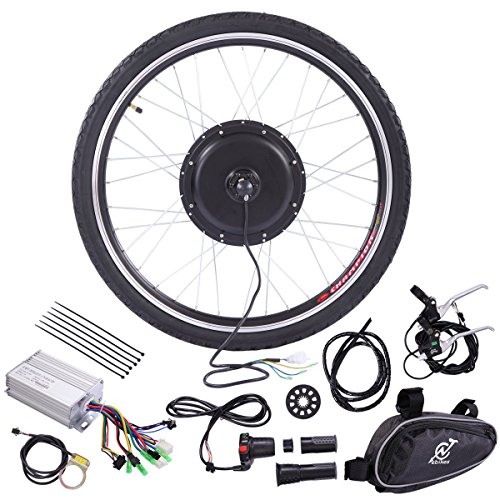JAXPETY 36V Rear Wheel Electric Bicycle Motor Conversion hub Kit 500W 26