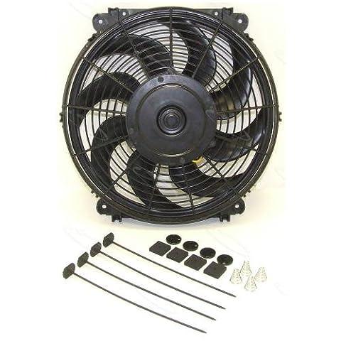 Hayden Automotive 3690 Rapid-Cool Thin-Line Electric Fan - 1990 Bmw M3 Engine