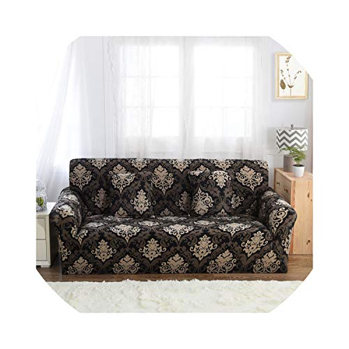 Brilliant-Mirror Slipcover Seater Sofa Cover Tight Wrap All-Inclusive al Seat Sofa Covers Couch Covering Slipcovers,5828,Ab 190-230Cm