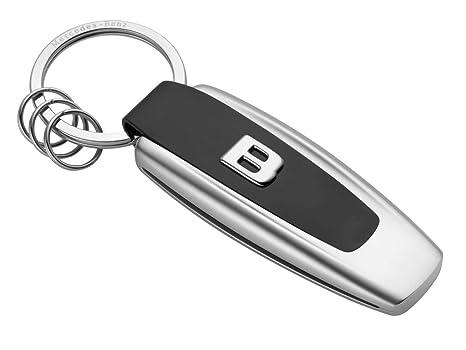 Mercedes-Benz - Llavero plateado plateado/negro: Amazon.es ...