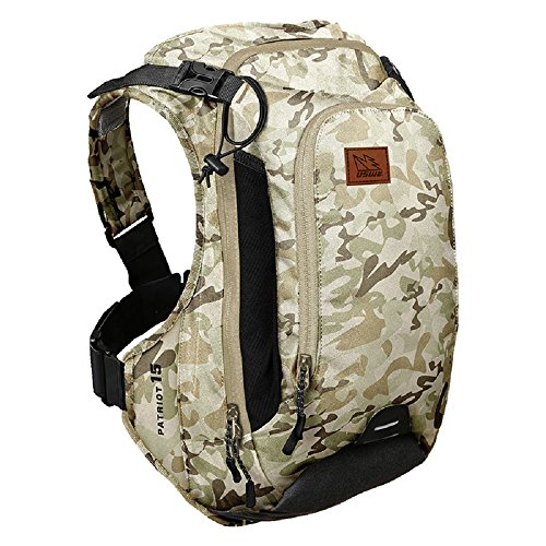 Uswe Camouflage Patriot Cb - 15 Litre (Without Bladder) Hydration Pack (Default , Green)