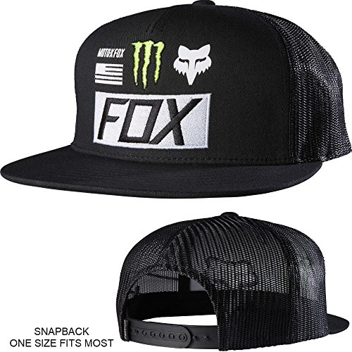 5f0a937e3 Fox Racing Monster Energy Union Snapback Hat #19374-001-OS - Buy ...