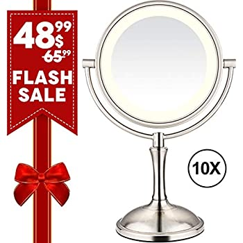 Amazon Com Brightinwd Magnifying Mirror With Lights