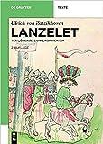 Lanzelet: Text - Übersetzung - Kommentar. Studienausgabe (de Gruyter Texte)