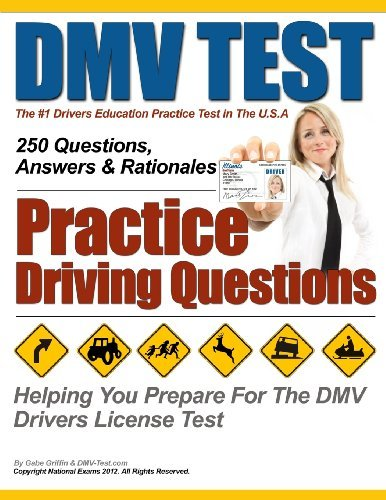 DMV Test Practice Driving Questions by Griffin Mr Gabe Exams National (2013-02-28) Paperback