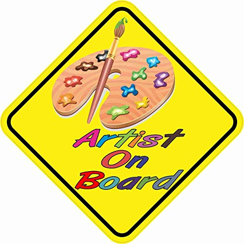 StickerTalk 5in x 5in Artist On Board Magnet (Palette Magnet Artists)
