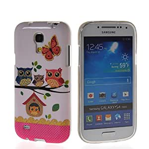 KCASE Cute Owl Soft Gel TPU Silicone Back Case Cover For Samsung Galaxy S4 Mini I9190