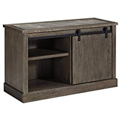 Farmhouse Buffet Sideboards Signature Design by Ashley Luxenford Large Credenza Grayish Brown farmhouse buffet sideboards