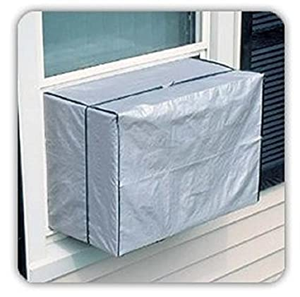 5b214297092 Outdoor Window AC Cover Air Conditioner Protects Window-style Air  Conditioners From Dirt and Debris in the Off-Season - - Amazon.com