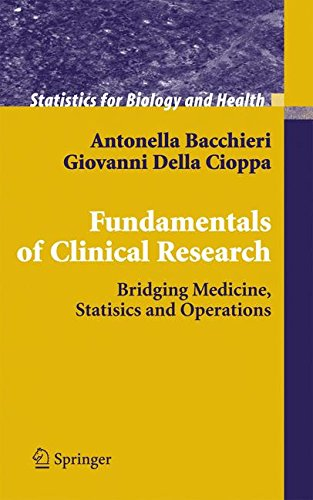 Fundamentals of Clinical Research: Bridging Medicine, Statistics and Operations (Statistics for Biology and Health)