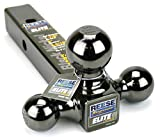 Reese Towpower 7039800 Triple Ball Mount, Black Nickel, Versatile and Universal
