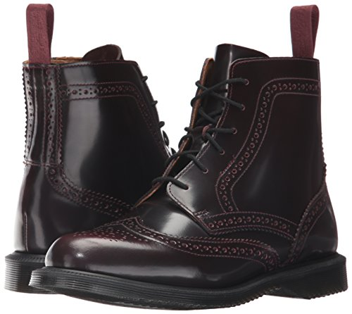 Boots Delphine martens Red Eyelet 6 Womens Arcadia Leather Cherry Dr AZOfYnn