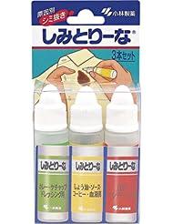 日亚:凑单品:KOBAYASHI 小林制药 衣物去污笔组合装 10ml*3支 375日元(约21.6元)