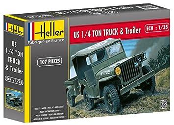 Heller - 81105 - Maqueta para Construir - US 1/4 Ton Truck ...