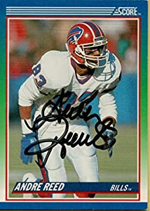 Football NFL 1990 Score #57 Andre Reed Bills