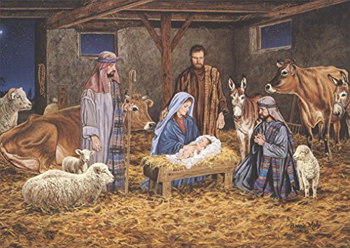 The Greatest Gift of All - Box of 18 Religious Christmas Cards