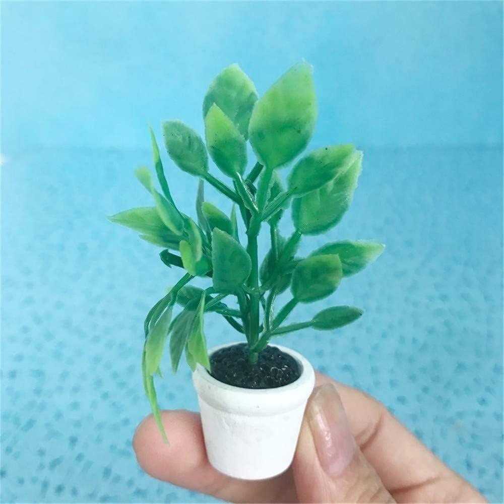 Fliyeong/ /Zarte Puppenhaus Miniatur Bonsai niedlichen Mini Puppenhaus Topfpflanze Dekoration Zubeh/ör lebendige Spielzeug Modell gr/ün kreativ und n/ützlich