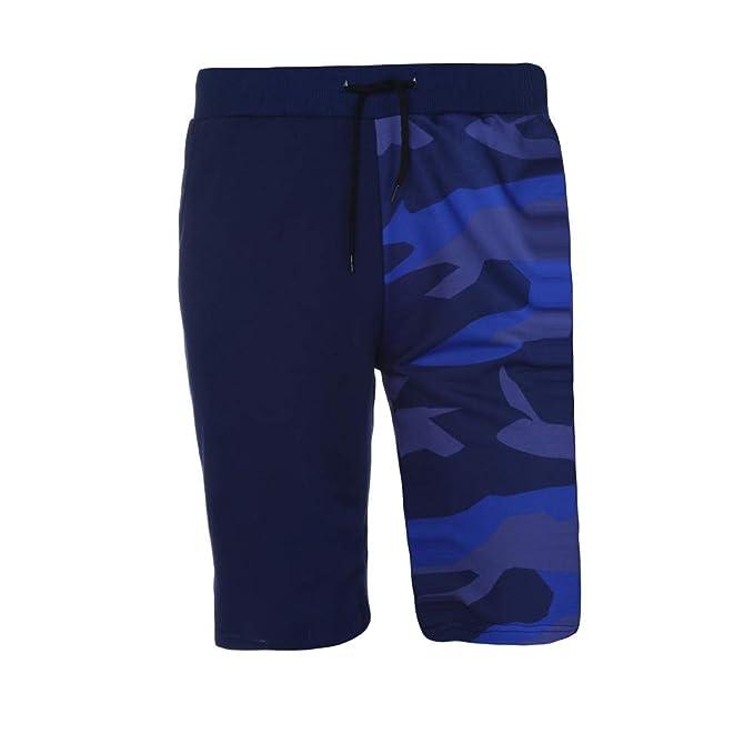 2a2683c1dc5a SamSoMon 2019 Pantalones Cortos para Hombre Bañador Estilo Bermudas ...