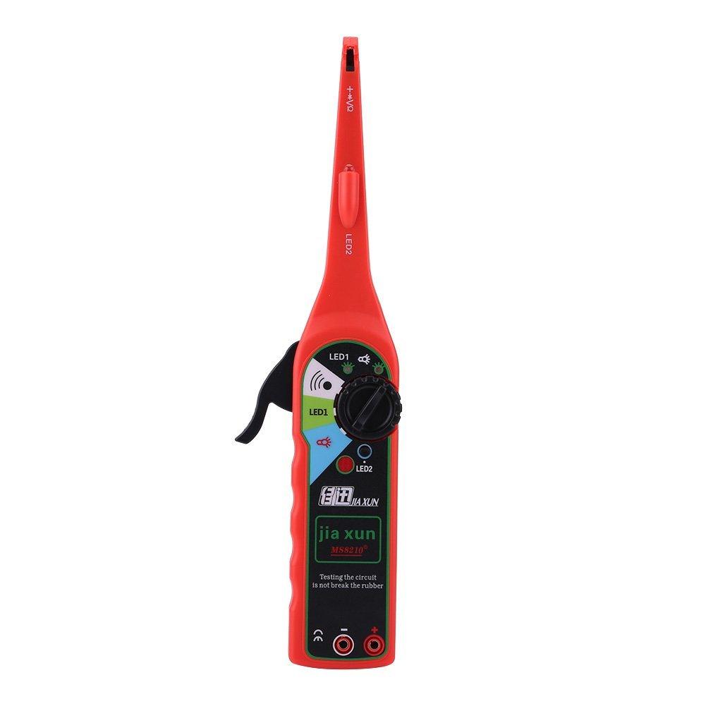 Qiilu Multifunction Auto Circuit Tester Multimeter Lamp Car Repair Electrical Diagnostic Tool