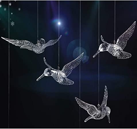 Oiseaux de Noël Maison Décoration 10 cm