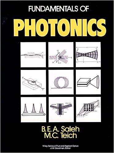 Fundamentals of Photonics #1
