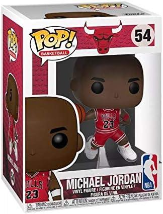 Michael Jordan FUNKO POP NEW Chicago Bulls NBA Figure MJ Must Have Nice Box 54