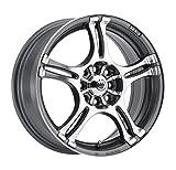 honda civic 1997 rims - Konig Incident Graphite Machined Wheel (14x6