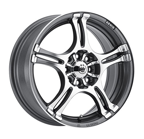 Konig Incident Graphite Machined Wheel