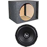 Audiopipe TXX-BD3-15 15-Inch 2400W Subwoofer with Vented Subwoofer Box