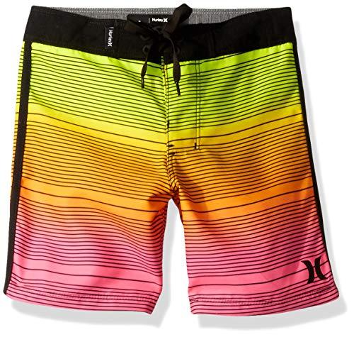 Hurley Boys' Little Board Shorts, Rainbow Fade, 5 ()