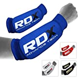 RDX MMA Forearm Support Brace Boxing Sleeve Pads Guard Compression Gym Wrap Padded Protector (CE...