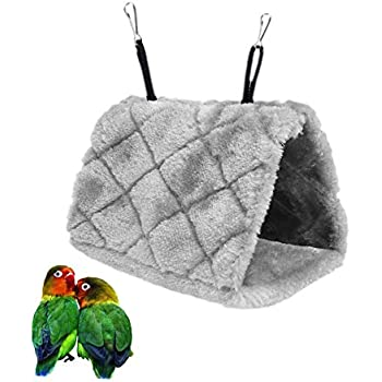 Pet Products Pet Hammock Hammock Mini Winter Warm House For Pet Bird Parrot Squirrel Hanging Bed Toy 100% High Quality Materials