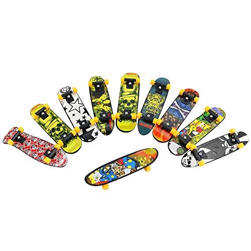 BeautyMood 24 pcs Professional Mini Finger Skateboard, Creative Fingertip Movement for Adults and Children (Random Mode). by BeautyMood (Image #4)